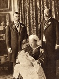 Four Generations of the English Royal Family  Illustration from 'His Majesty King Edward Viii' …