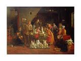 Italian Image - Boys at a Roadside Alehouse  1849