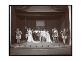 "A Scene from an Amateur Production of ""The Taming of the Shrew"" Presented at Barnard College  New…"