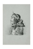 Inuit of Prince Albert's Land in Dancing Cap  Walker Bay  1851