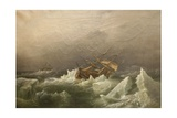 Hms Erebus and Terror  Gale in the Pack  20 Jan 1842  1863