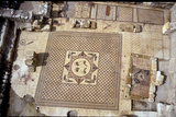 View of the Central Mosaic Floor