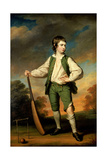 The Young Cricketer - Portrait of Lewis Cage  1768