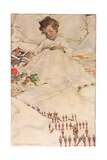 A Child in Bed  from 'A Child's Garden of Verses' by Robert Louis Stevenson  Published 1885