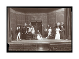 """A Scene from an Amateur Production of a Play Titled """"The Royal Family"""""""