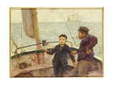 The Steering Lesson  1892
