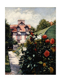 The Dahlias  Petit Gennevilliers Garden  1893