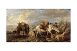The Deer Stalker's Return  1846