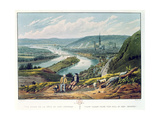 Rouen  View from the Hill of Bon-Secours  C1835