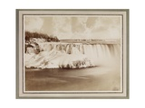 Niagara Falls  Winter  C1880