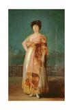 Portrait of La Tirana  Maria Fernandez  C1792