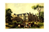 Sawston Hall  Cambridgeshire  1848