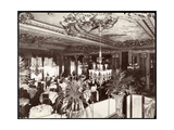 A Dining Room at the Hotel Savoy  C1895-96