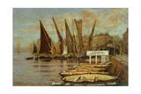 Greaves Boat Yard  Chelsea  1858