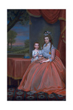 Mrs Elijah Boardman and Her Son  William Whiting Boardman  C1796