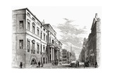 Edinburgh University  Scotland  from 'scottish Pictures Drawn with Pen and Pencil'  by Samuel G…