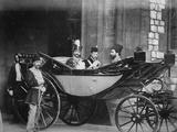 The Shah of Persia Leaving Windsor Castle  July 1873