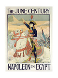Poster for the Century Magazine - 'Napoleon in Egypt'  1895