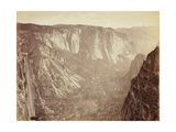View in the Yosemite Valley  1872