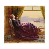 At Evening Time- Study  1864