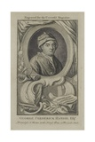 George Frideric Handel  Engraved for the Universal Magazine  C1760