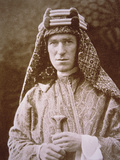 TE Lawrence in Arab Costume During Wwi  C1914-18