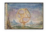 Laing Ms III 283  Fol443R  Truncated Cube  Possibly a Zodiac Instrument  from the 'Album…