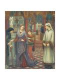 Dante and Beatrice  1880