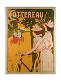 Poster Advertising Cottereau and Dijon Bicycles