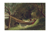 Girl in the Hammock  1873