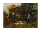 Don Quixote and the Goat Herders  1870