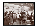 William Chase Teaching an Art Class for Female Students  1896-98