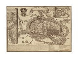 Map of Ayutthaya  1686