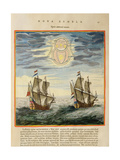 The Sun and the Stars Guiding the Sailors on their Way  from the 'Atlas Maior  Sive Cosmographia…