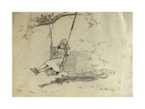 Girl on a Swing  1879