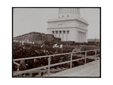 The Tomb  Bleechers and Crowd at the Dedication of Grant's Tomb on Riverside Drive  Presumably on…
