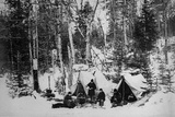 Prince Arthur's Moose Hunting Expedition in Canada  C1870