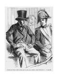Lucien De Rubempre and Vautrin Arrested  Illustration from 'splendeurs Et Miseres Des…