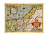 Palestine and the Promised Land  from the 'Theatrum Orbis Terrarum'  1603
