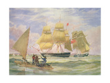 Hm Ships 'Ganges' and 'sapphire' Off Pernambuco  1829