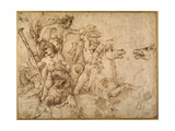 Battle of the Tritons  after Anrea Mantegna