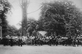 The Prince Imperial's Funeral Cortege  Camden Place  July 12  1879