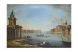The Bacino Di San Marco  Venice  Looking East  with the Church of San Giorgio Maggiore