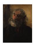 Portrait of a Bearded Man  1855