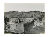 Panoramic View of the Temple Mount  1850s
