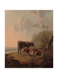 Cattle in an Italianate Landscape