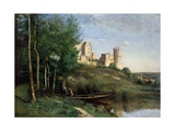 Ruins of the Chateau De Pierrefonds  C1830-35