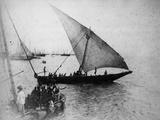 Bombay: Dubash Boat  1870s