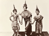 Classical Thai Dancers  C1900