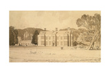 Felbrigg Hall  Norfolk  1818
